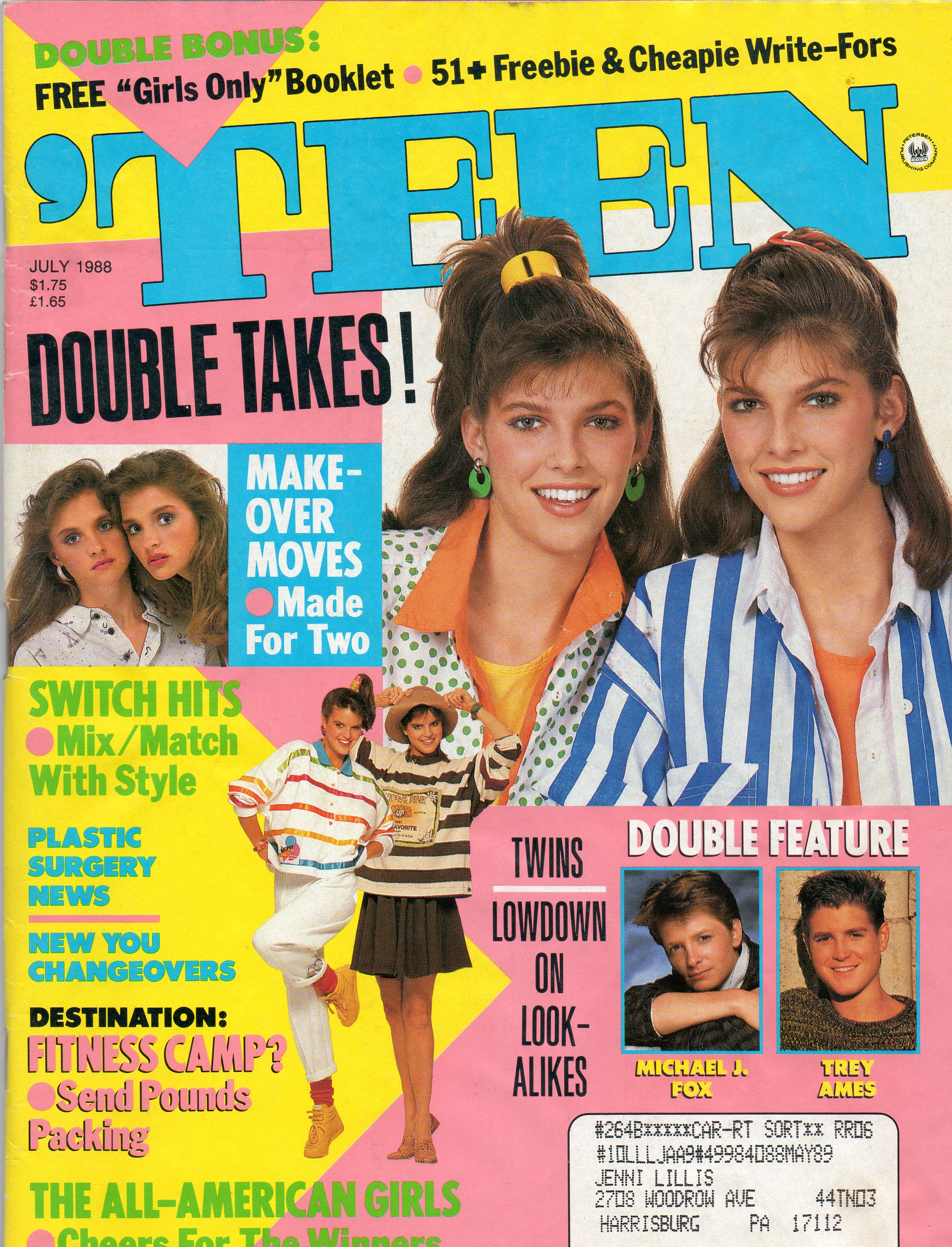 Fashion Advice from the July 1988 'Teen Magazine | J.C ...