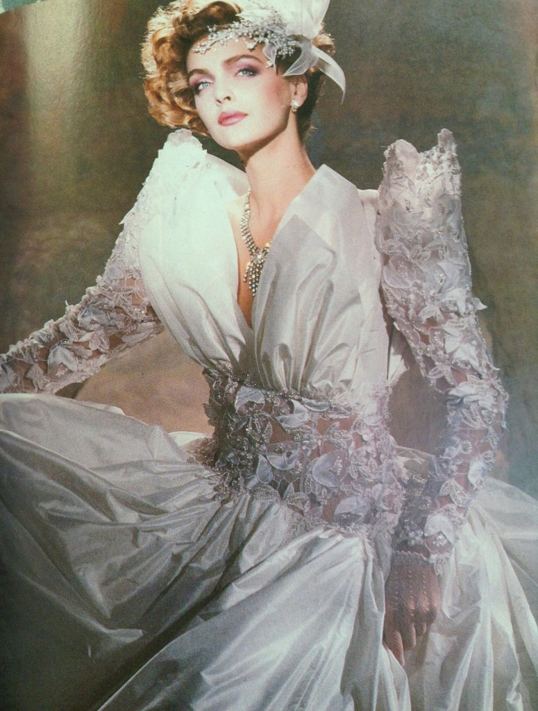 80s fashion exclusive the 11 worst wedding gowns bridesmaid dresses from the 1985 bride s. Black Bedroom Furniture Sets. Home Design Ideas