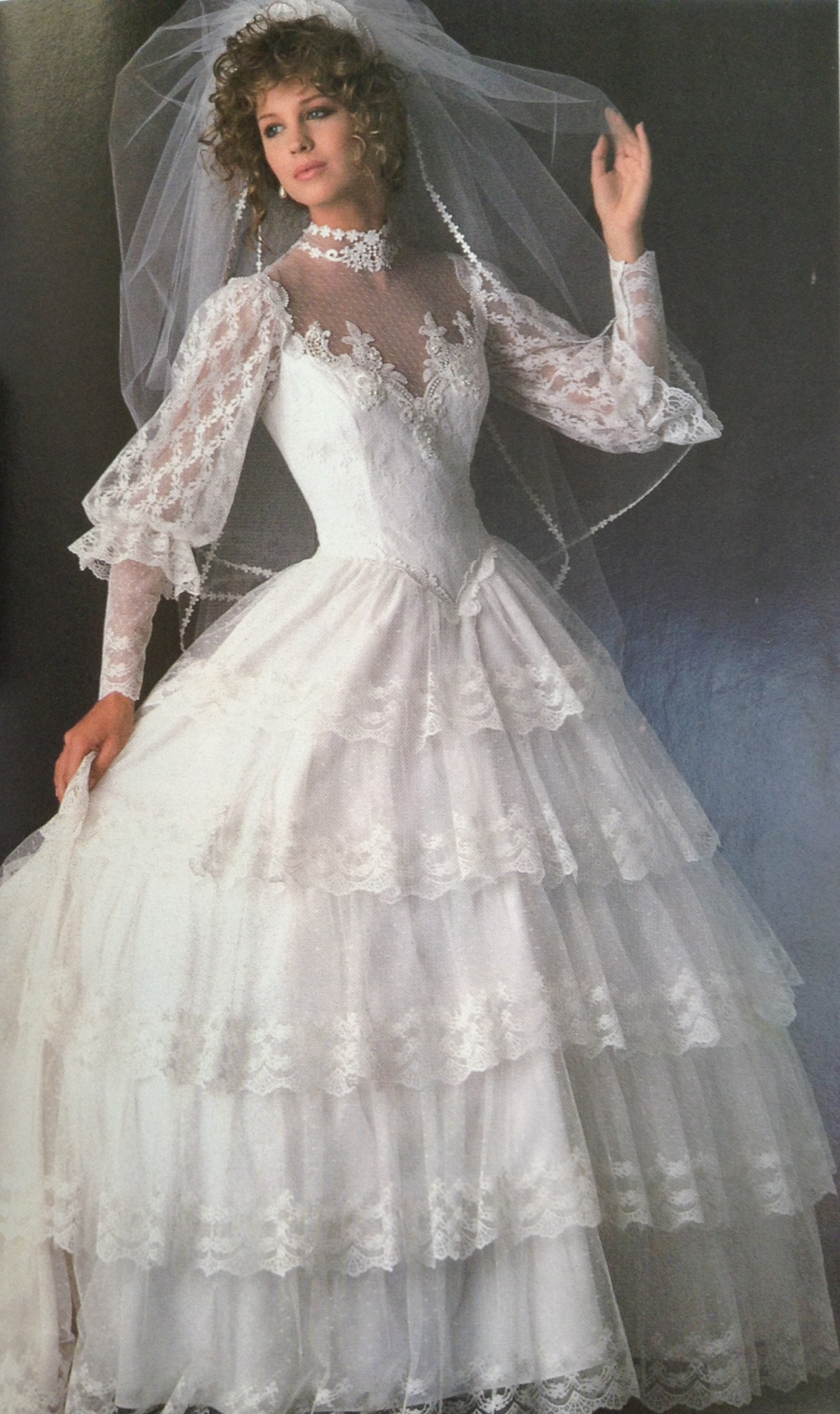 80s Fashion Exclusive! The 11 Worst Wedding Gowns & Bridesmaid ...