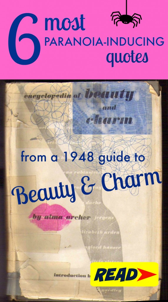 What I learned from a 1940s etiquette guide to beauty and charm