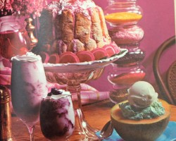 1970s food photography   dessert