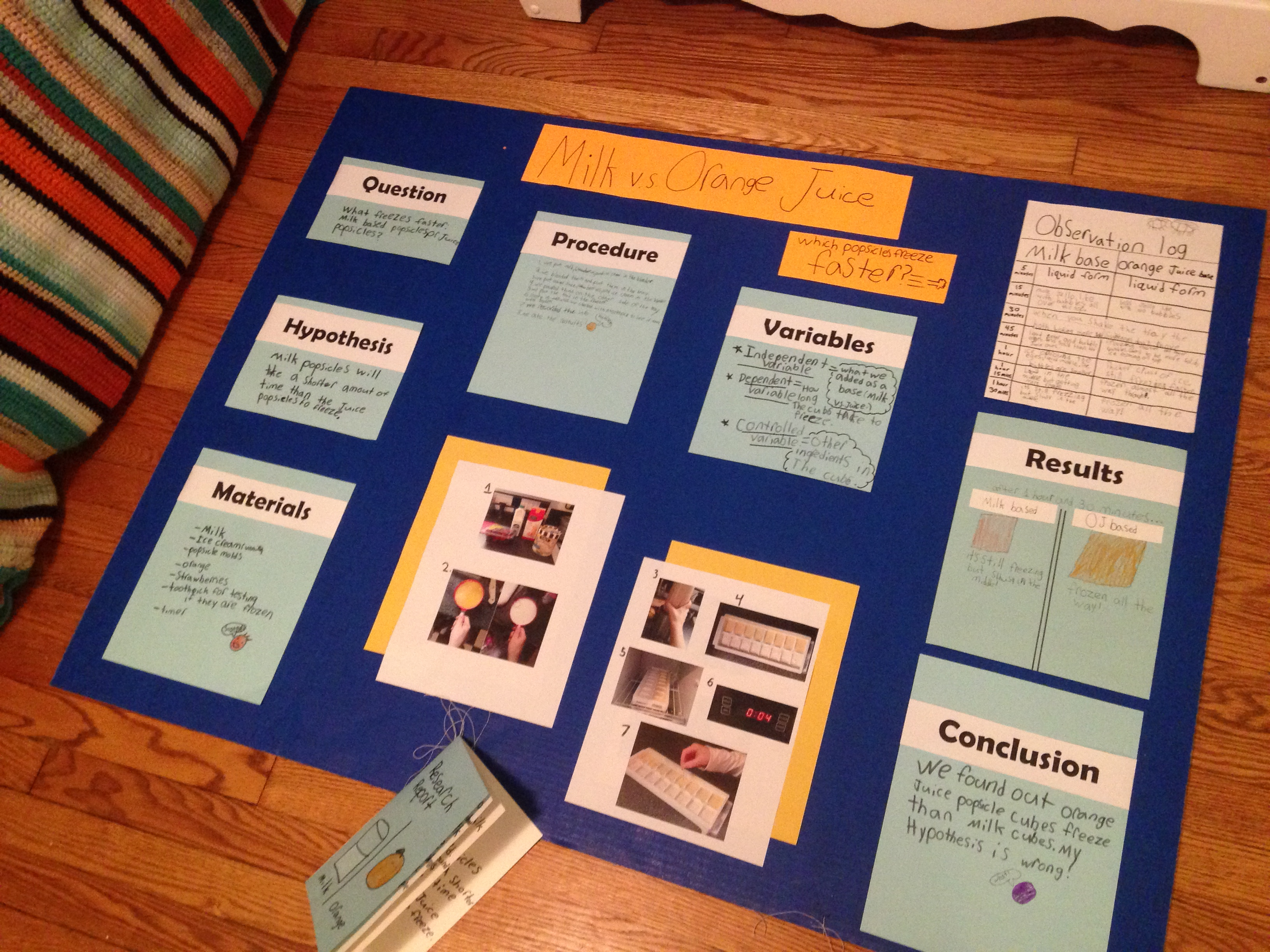 hypothesis for science fair project The 3rd step for a science fair project is to research and form a hypothesis.
